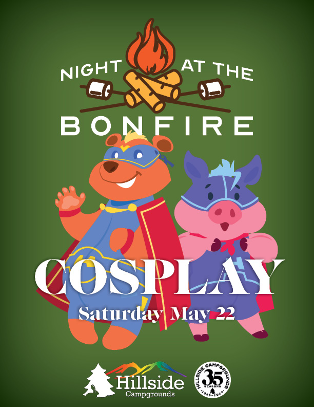 night at bonfire bears1 cosplay