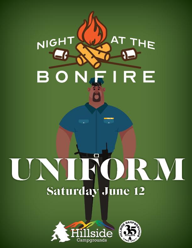 night at bonfire fantasy1 uniform