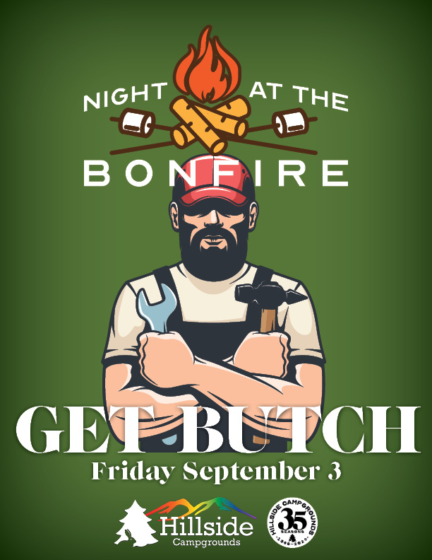 night at bonfire labor butch