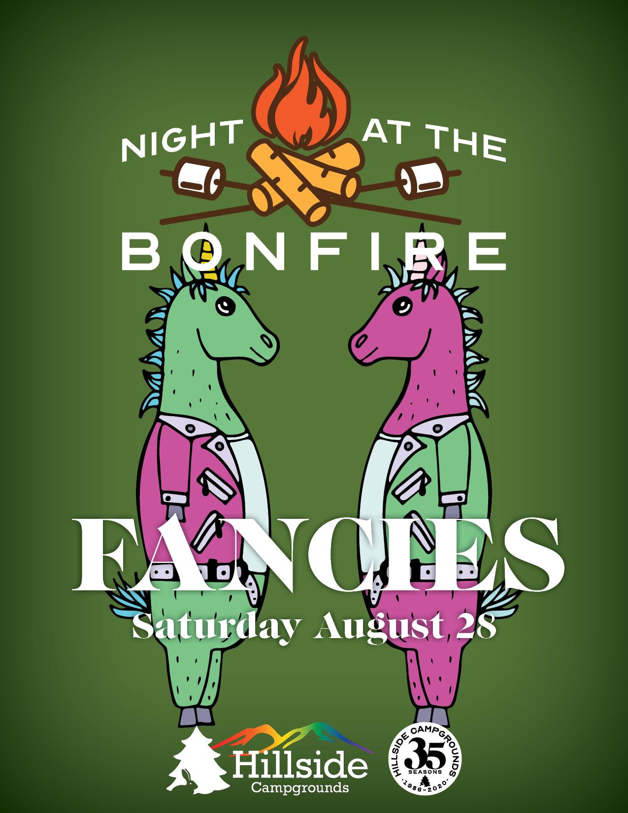 night at bonfire leather3 fancies