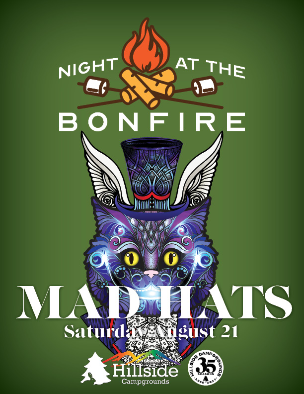 night at bonfire mad hatter hats