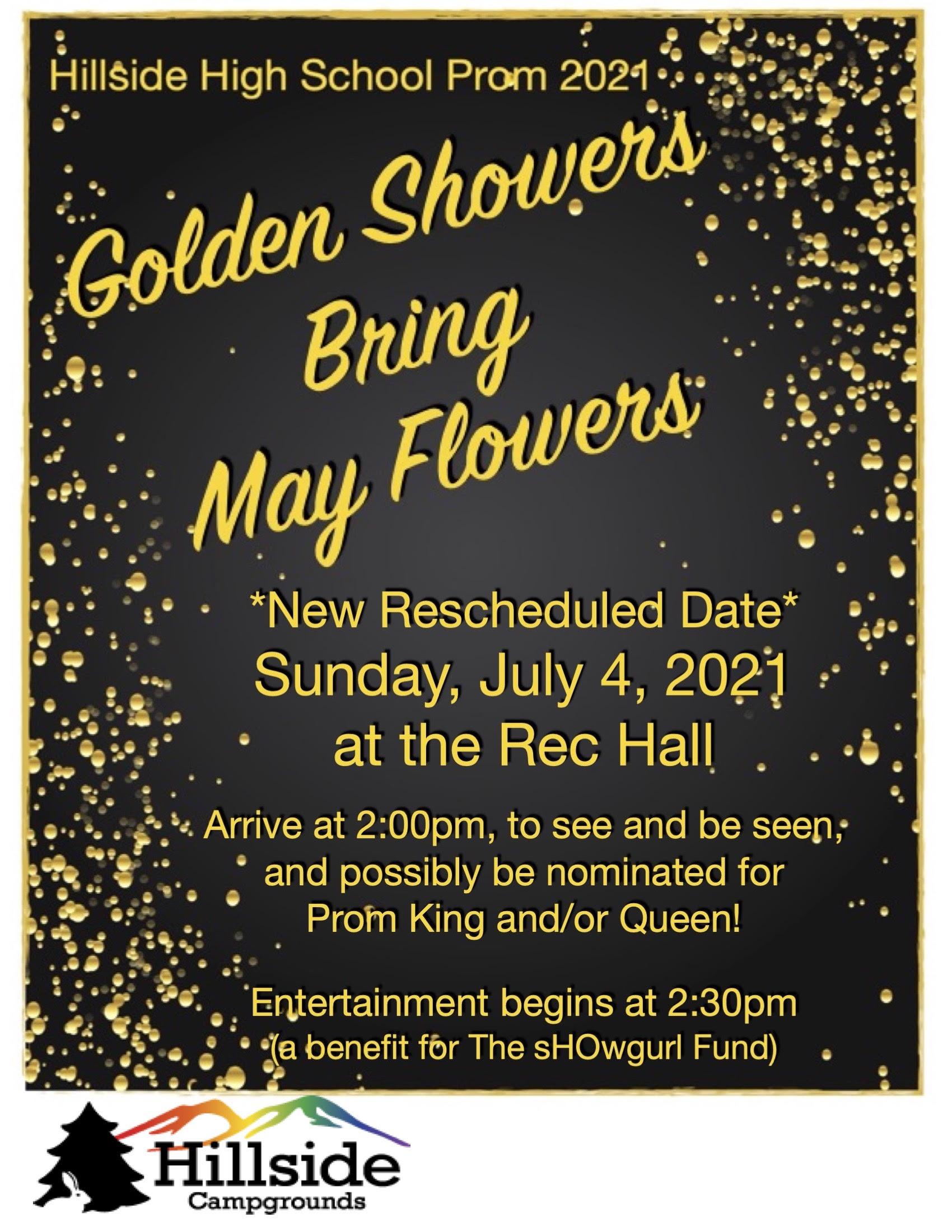 golden showers july4